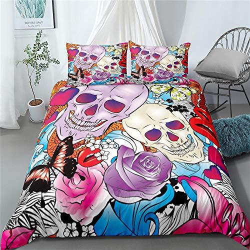 Bedclothes-Blanket Juego de Cama 150,Rosa 3D-Seducir_230 × 220cm