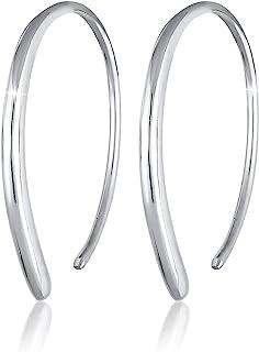 Elli Women's 925 Sterling Silver Thread Earrings 312741117