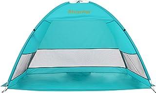 Alvantor Beach Tent Coolhut Plus Beach Umbrella Sun Shelter Cabana Automatic Pop Up UPF 50+ Sun Shade Portable Camping Fis...