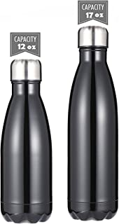 DKASA Stainless Steel Vacuum Insulated Water Bottle,Cola Shaped,Business Convenience,Perfect for Outdoor Sports Camping Hiking Cycling, Keeps Your Drink Hot & Cold