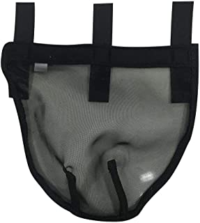 Younar Breathable Horse Nose Net Horse Fly-Proof Fly Mask Horse Nose Cover Nose Extension