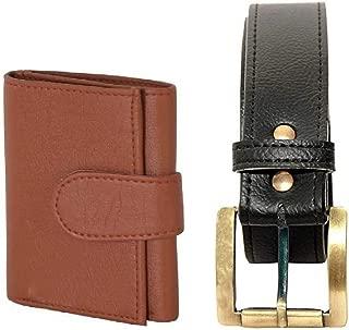 MUNDKAR Mens Accessories Combo Belt & Wallet (Offer-08)