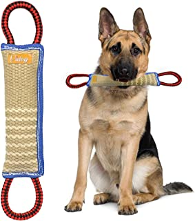 Didog Dog Bite Tug Toy with 2 Handles for Training,Sporting and Interaction Tugging Outside(11
