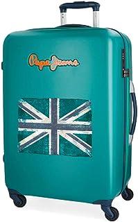 Pepe Jeans Olaia Set de bagages 67 cm Bleu 97 liters Azul