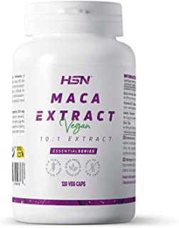 MACA (10:1) Extract 500mg - 120 veg caps   Improves Mood, Libido, Fertility and sport performance
