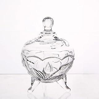 20/cm hecho a mano de cristal transparente 3,5/l Bol con pie para /«trifle/»