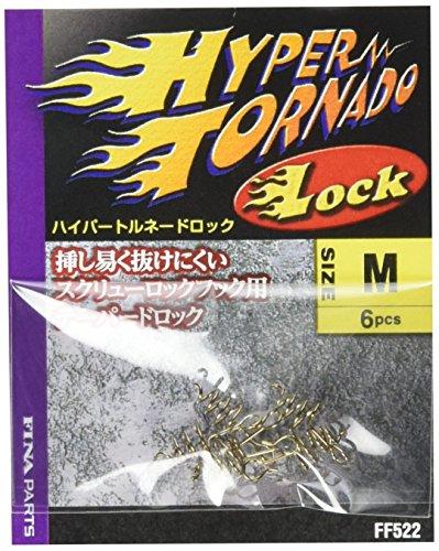 ハヤブサ(Hayabusa) ハイパートルネードロック フック M FF522 FF522 釣り針
