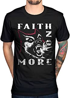 Men's Official Faith No More Dog Vintage T-Shirt Rock Band Indie Album Alternative