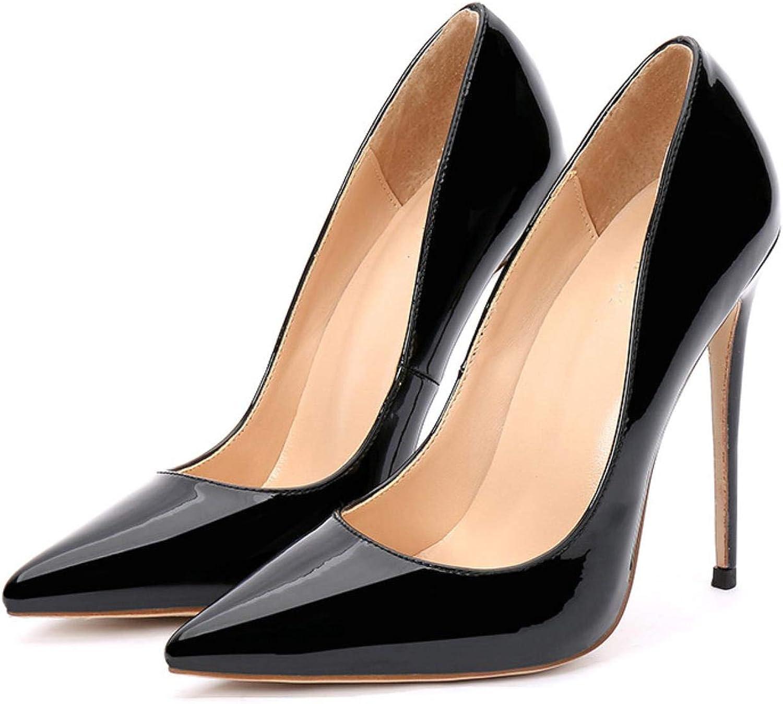 Points Toe High klackar 12cm 12cm 12cm Kvinnors pumpkontor  med 60% rabatt rabatt