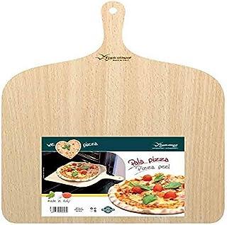 "Eppicotispai Birchwood Pizza Peel, 14.75 by 19.70"", Cream"