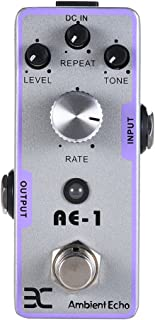ammoon ENO EX AE-1 Electric Guitar Ambient Echo Effect Pedal Full Metal Shell True Bypass