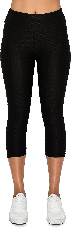 Leggings Depot Women's High Waisted Fashion Yoga Leggings BAT1