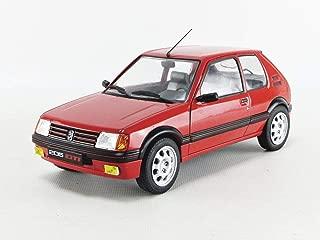 PEUGEOT 205 GTI 1.9L rouge 1/18 1986
