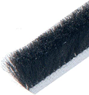 Roll 100 ft CRL Storefront Door Pile Weatherstrip .350 Pile Height; .350 Backing Width