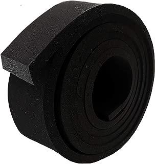 Neoprene Foam Strip Roll by Dualplex Weather Seal High Density Stripping – Weather Strip Roll Insulation Foam Strips - 10 Feet Long (1