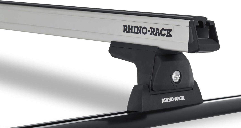 Rhino Rack Heavy Duty Silver 2 - Roof Free gift Shipping New Y01-140 Bar 65