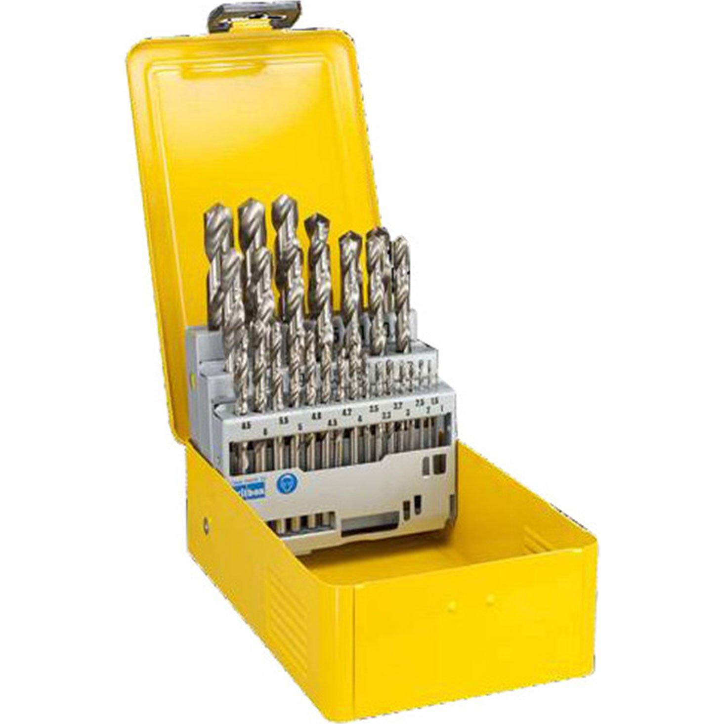 Preciso tarima DeWalt 29 piezas HSS-G brocas en estuche de Metal [himry Set] - garantía con 3 años rescu3®: Amazon.es: Bricolaje y herramientas