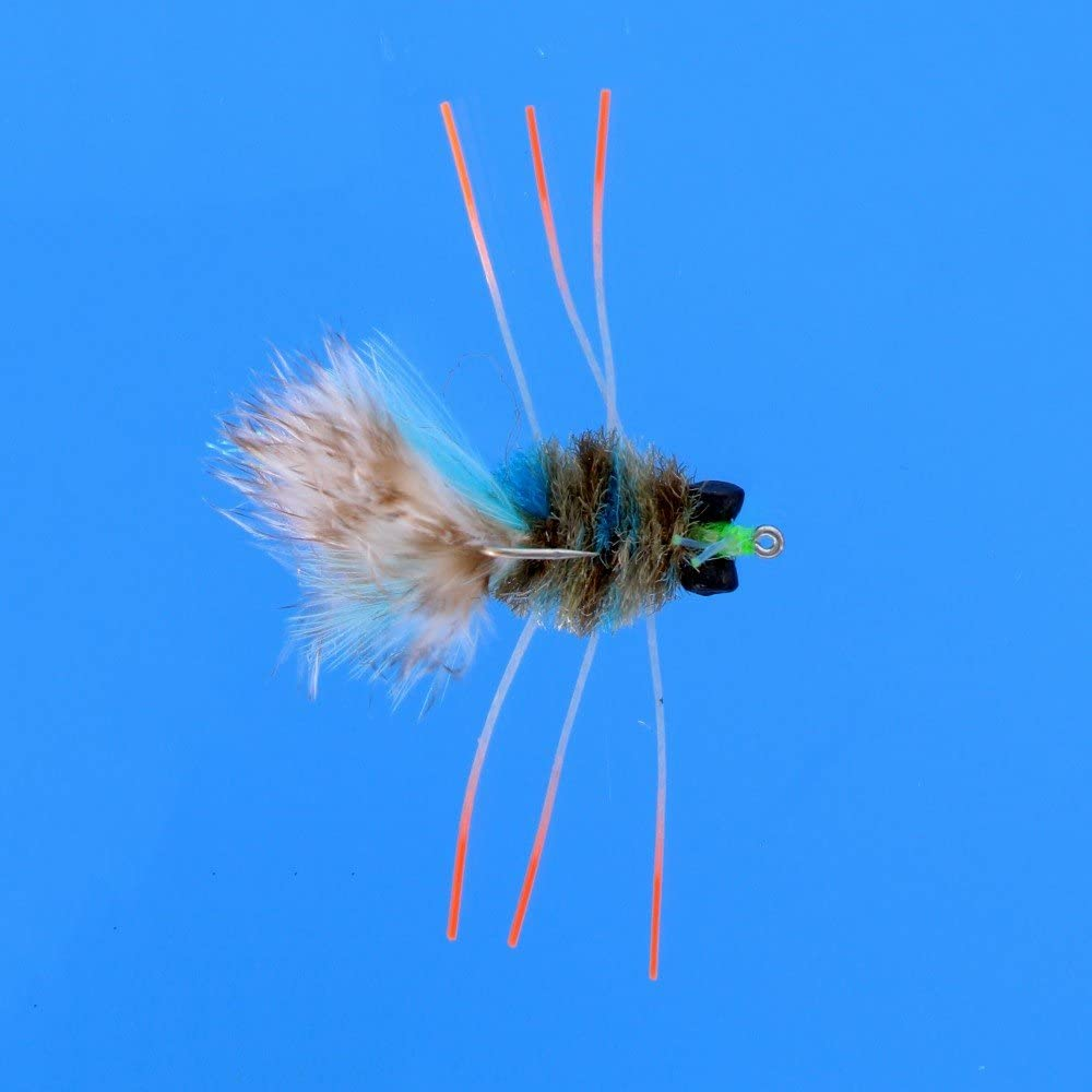 Details about  /saltwater fly Bonefish Permit EP Crabs X 5 # 1 Clearance Deals