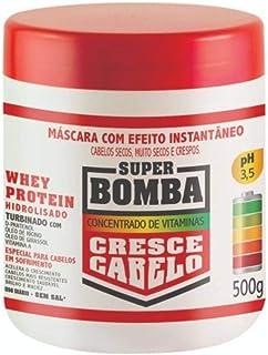 Máscara Studio Hair Super Bomba Cresce Cabelo Secos, Muito Secos e Crespos 500g, Muriel