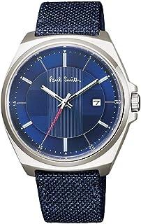 ポールスミス Paul Smith 腕時計 Closed Eyes クローズドアイズ メンズ 時計 ネイビー BV1-216-72