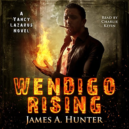 Wendigo Rising audiobook cover art