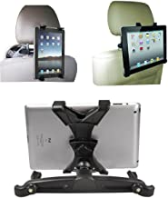 Jackscool Headrest Mount Car Seat Back Holder with 360 Degree Adjustable Rotating Travel Kit for Ipad, Samsung Galaxy,motorola Xoom,7