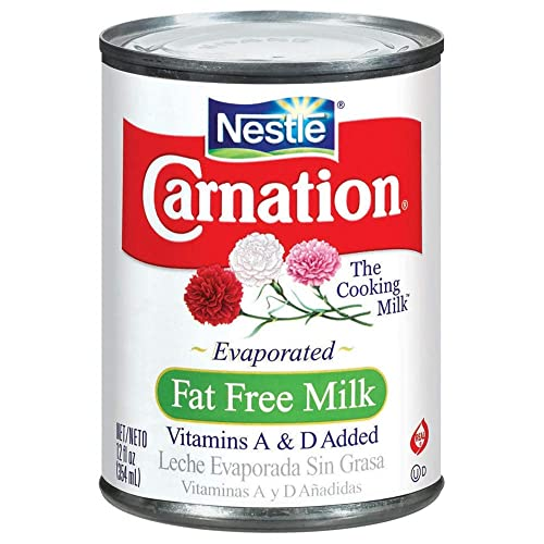 Carnation Evaporated Milk, Fat Free, 12 Fl Oz