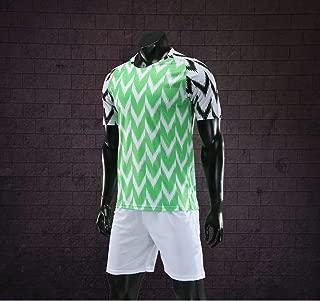 2018 Nigeria National Football Team Home Football Uniform,Russia World Cup Home National Team Football Team Short-Sleeved Shorts