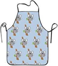 So Cute Australia Koala Bear Bib Apron Adult Women Unisex Durable Comfortable Washable For Cooking Baking Kitchen Restaurant