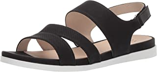 LifeStride Women's Ashley 2 Flat Sandal, Black, 8.5 M US