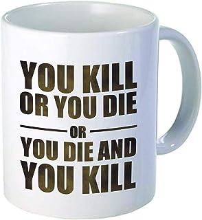 """Drôle""""vous tuez ou vous mourez"""", nouveauté de tasse de café 11OZ, bureau, travail. par Aviento"""
