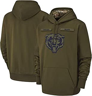 Beverly Wray Chicago_Bears_Men's_Apparel_Salute_to_Service_Sideline_Therma_Performance_Pullover_Hoodie