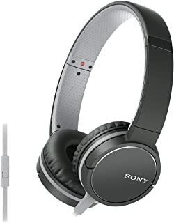 Sony MDR-ZX660AP Diadema Biauricular Alámbrico Negro, Gris Auricular para móvil - Auriculares (Alámbrico, Diadema, Biauric...