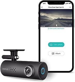 70mai Dash Camera for Cars, 1080P, 130° Wide Angle, Built-in WiFi Dash Cam, Emergency Recording, APP Control Dashboard, Ca...