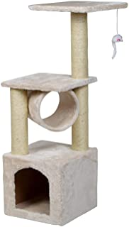 "Mumoo Bear 36"" Cat Trees and Towers with Scratching Posts Condos Hammock Resting Perch, Indoor Pet Activity Furniture Play..."