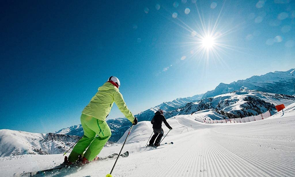 It is very popular Qingbaotong Jigsaw Puzzle Exit Winter Skiing Long Beach Mall in fo