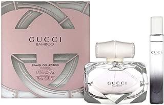 Gucci Bamboo for Women 2 Piece Travel Set (2.5 Oz Eau De Parfum Spray+ 0.25 Oz MINI Spray)