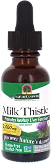 Nature's Answer Alcohol-Free Milk Thistle Seed, 1-Fluid Ounce