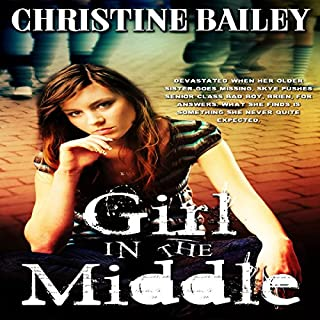 Girl in the Middle audiobook cover art