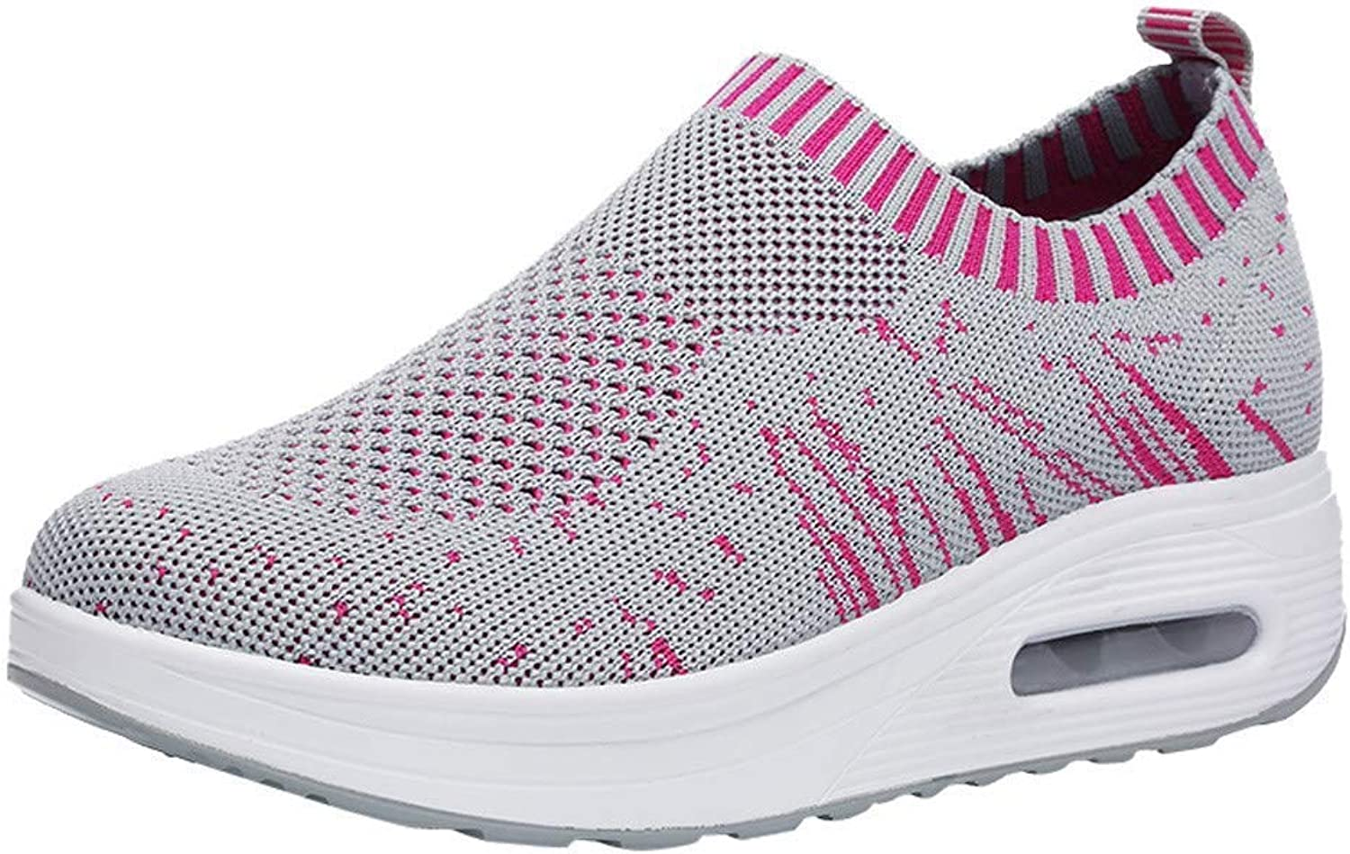 JaHGDU Women Outdoor Air Cushion shoes Mesh Casual Sport shoes Thick Soled Sneakers Fashion Cosy Wild Casual Quality Super Elegant Leisure for Womens