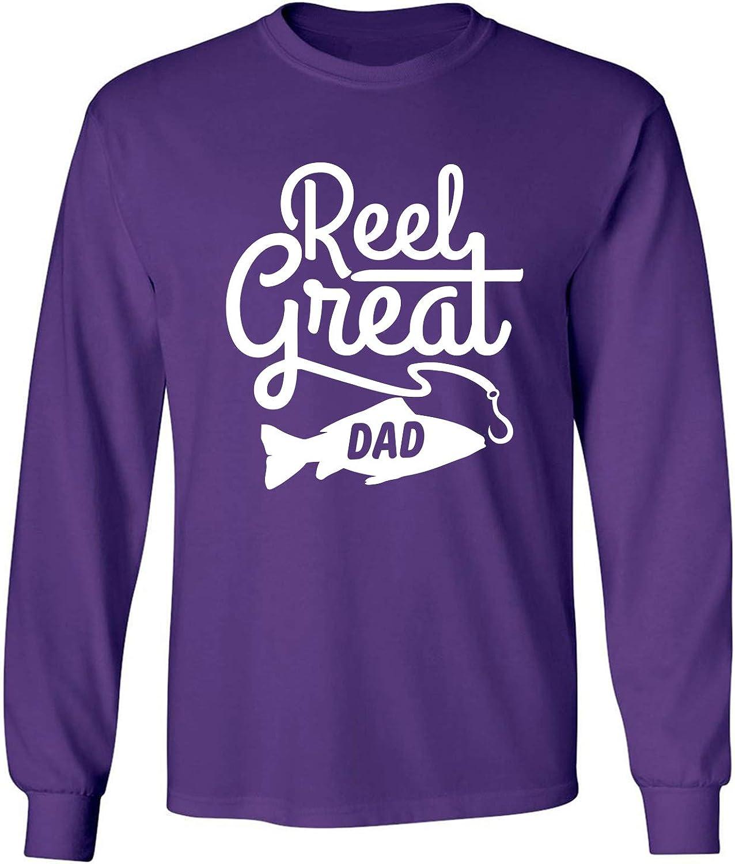 zerogravitee Reel Great Dad Adult Long Sleeve T-Shirt
