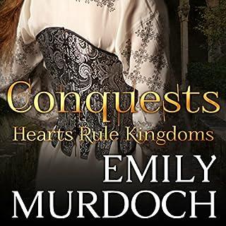 Conquests audiobook cover art
