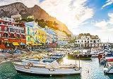 Coastal Village Landscape Capri Italy, Jigsaw Puzzle, Collection, 1500 Pieces