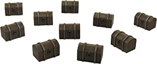 EnderToys Chests, Terrain Scenery for Tabletop 28mm Miniatures Wargame, 3D Printed and Paintable
