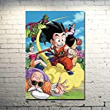 Geiqianjiumai Personajes de Anime HD Impresiones de Arte de Pared Modular imágenes de Dibujos Animados póster Lienzo Sala de Estar hogar Enmarcado Pintura sin Marco 30C45VM