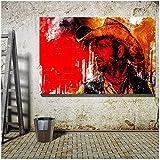 SHKHJBH Leinwand Bilder Lucky Luke Poster Für Wohnzimmer