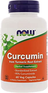 Now Foods Curcumin, Veg Capsules, 60ct