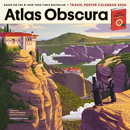 Atlas Obscura Wall Calendar