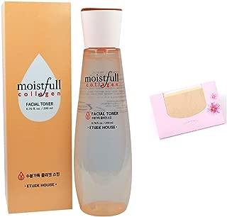 Moistfull Collagen Facial Toner 200ml+ SoltreeBundle Natural Hemp Paper 50pcs