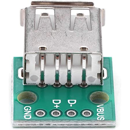 Akozon 10 Stücke Usb Typ A Buchse Breakout Board 2 54mm Pitch Adapter Stecker Dip Für Diy Usb Stromversorgung Breadboard Design Gewerbe Industrie Wissenschaft